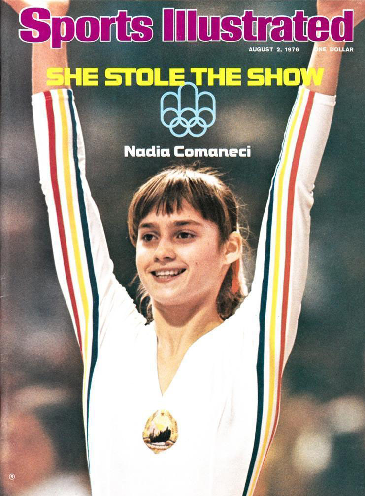 NADIA COMANECI COVER OF SPORTS ILLUSTRATED AUGUST 2, 1976 (1)